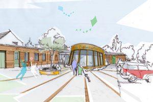 Beelitz, Kita, Bahnhof