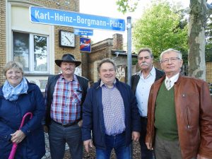 v.l.n.r.: Jutta Felgenträger, Bernd Schulz aus Gömnigk, Andreas Koska aus Cammer, Achim Liesecke, Lothar Koch