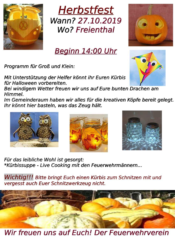 Herbstfest, Freienthal