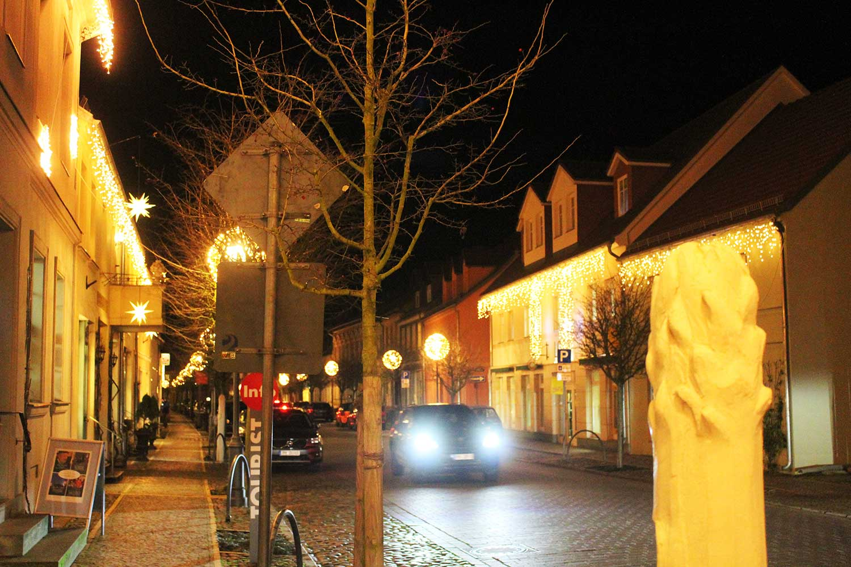 Beelitz, Weihnachtsbeleuchtung
