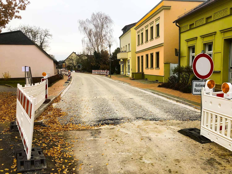 Lehnin, Straßenbau