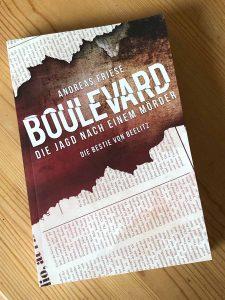 """Andreas Friese liest aus seinem Krimi """"Boulevard – Die Jagd nach einem Mörder"""" Teil 1 """"Die Bestie von Beelitz"""" @ Café Alte Wache"""