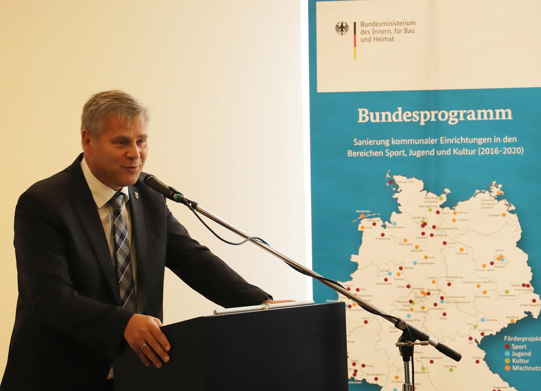 Bürgermeister Uwe Brückner