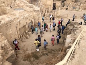 Gruppe im Herodium