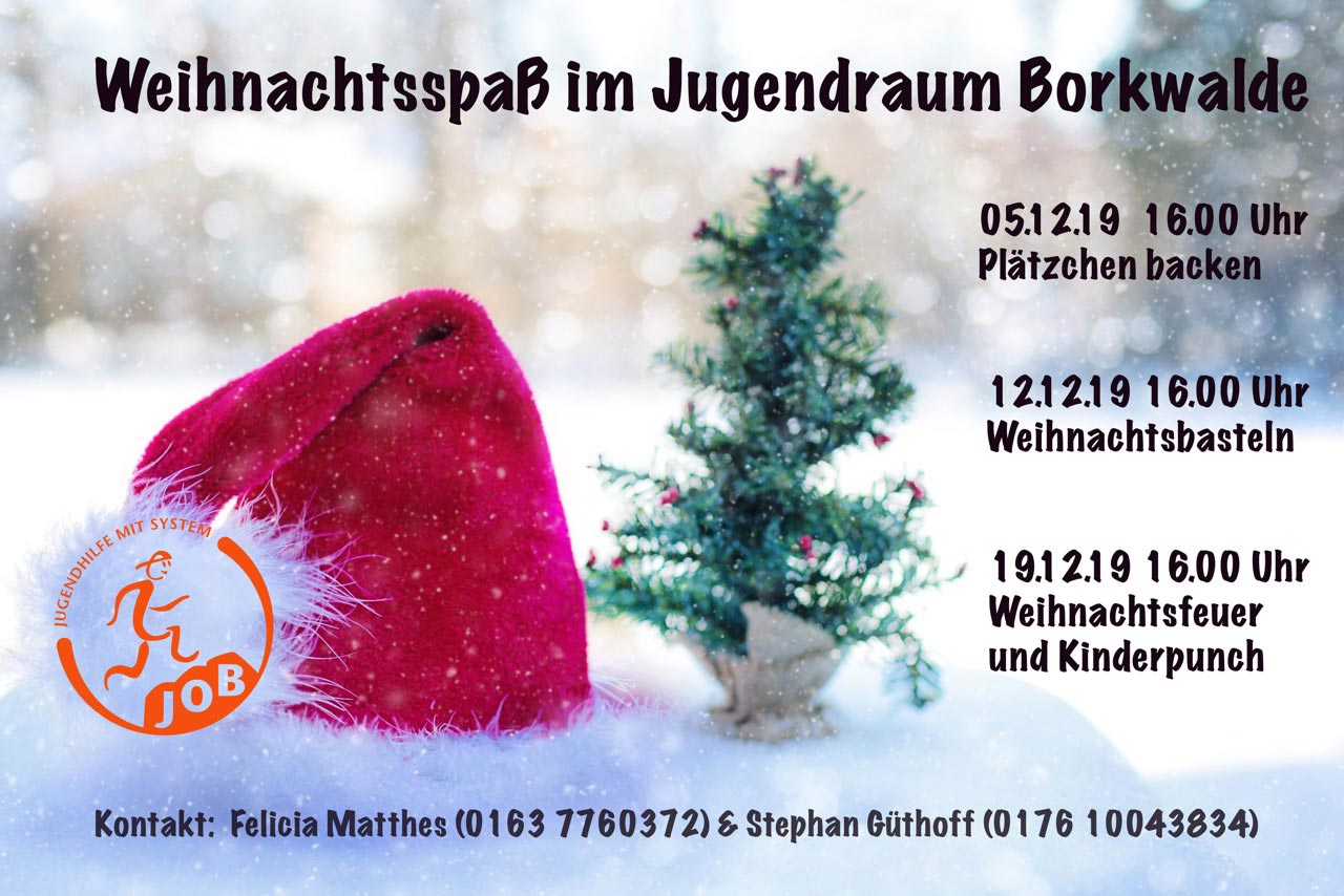 Weihnachtsspass, Jugendraum, Borkwalde