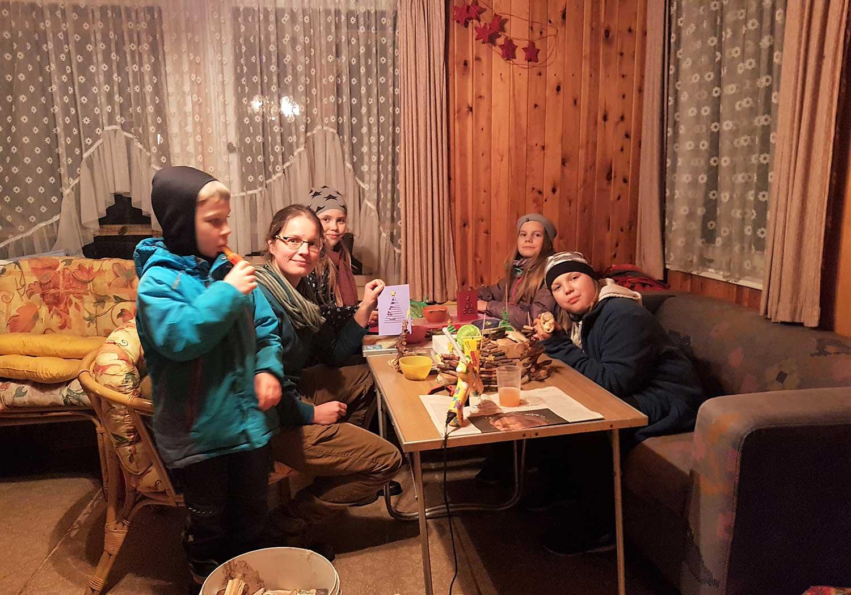 Borkwalde, Weihnachtstreiben