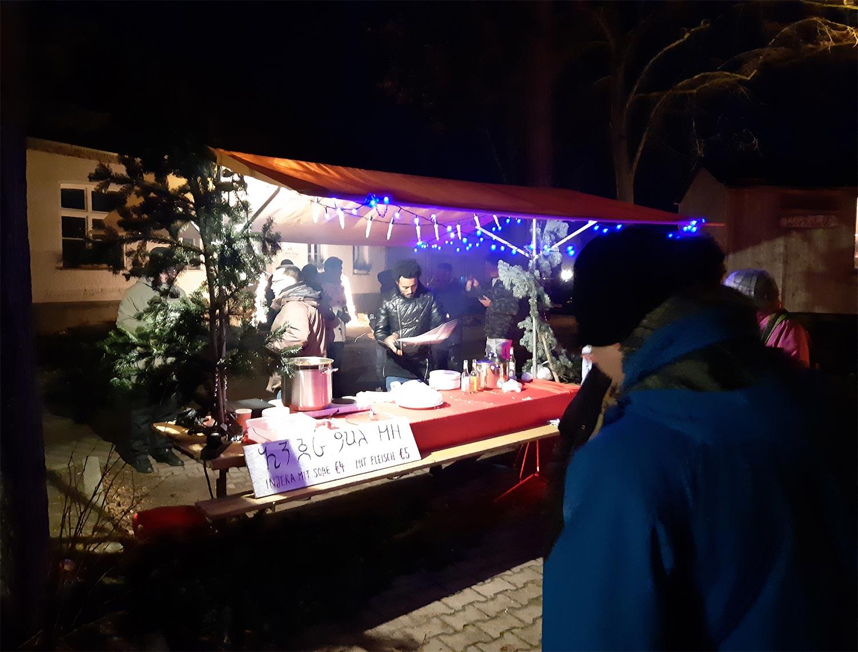 Kanin, Weihnachtsmarkt