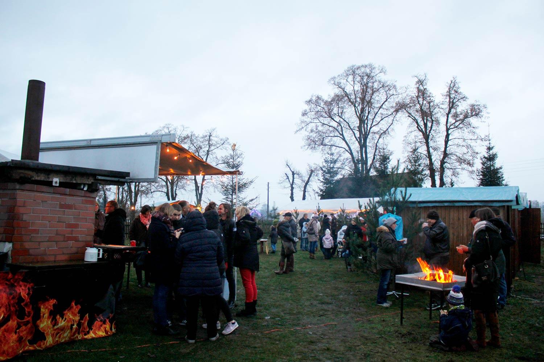 Weihnachtsmarkt, Bockwindmühle, Beelitz