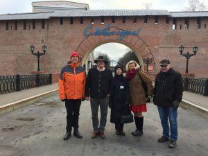 Volksdiplomaten, Nowgorod, Brück