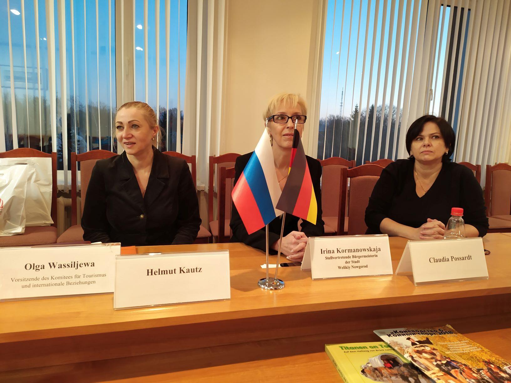 Volksdiplomatie in Nowgorod
