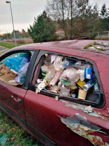 Müllaktion, Müll, Brück, Linthe, Schüler