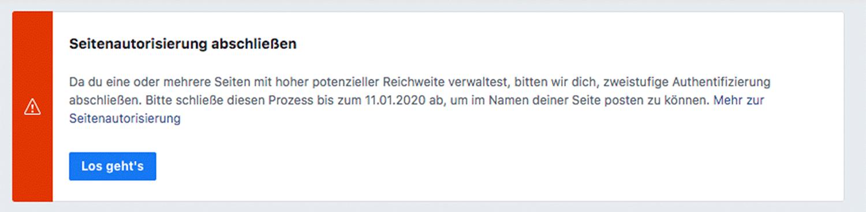 FB-Authorisierung