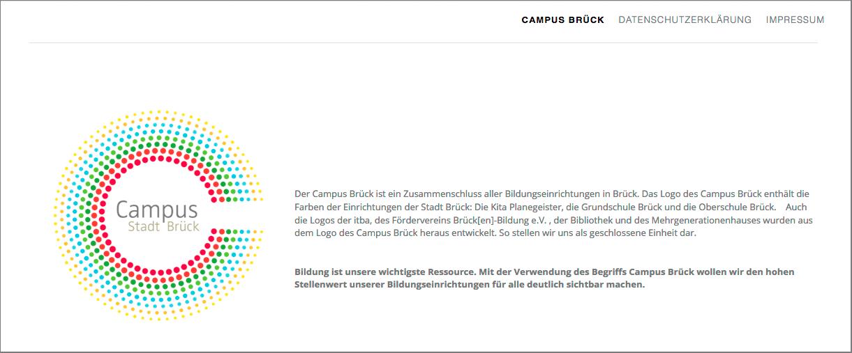 Webseite-Campus-Brueck