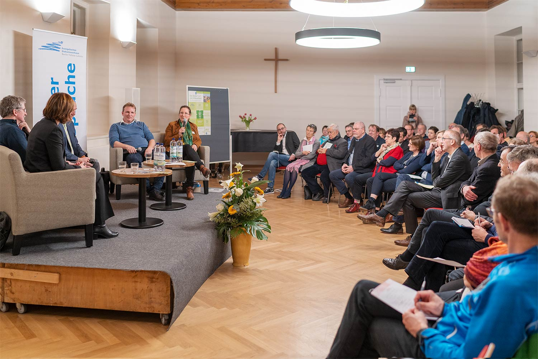 Lehniner Gespräch, Evangelisches Diakonissenhaus, Lehnin