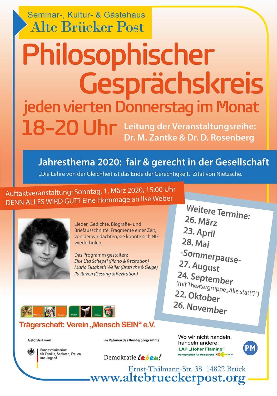 Philosophischer Gesprächskreis, Alten Brücker Post