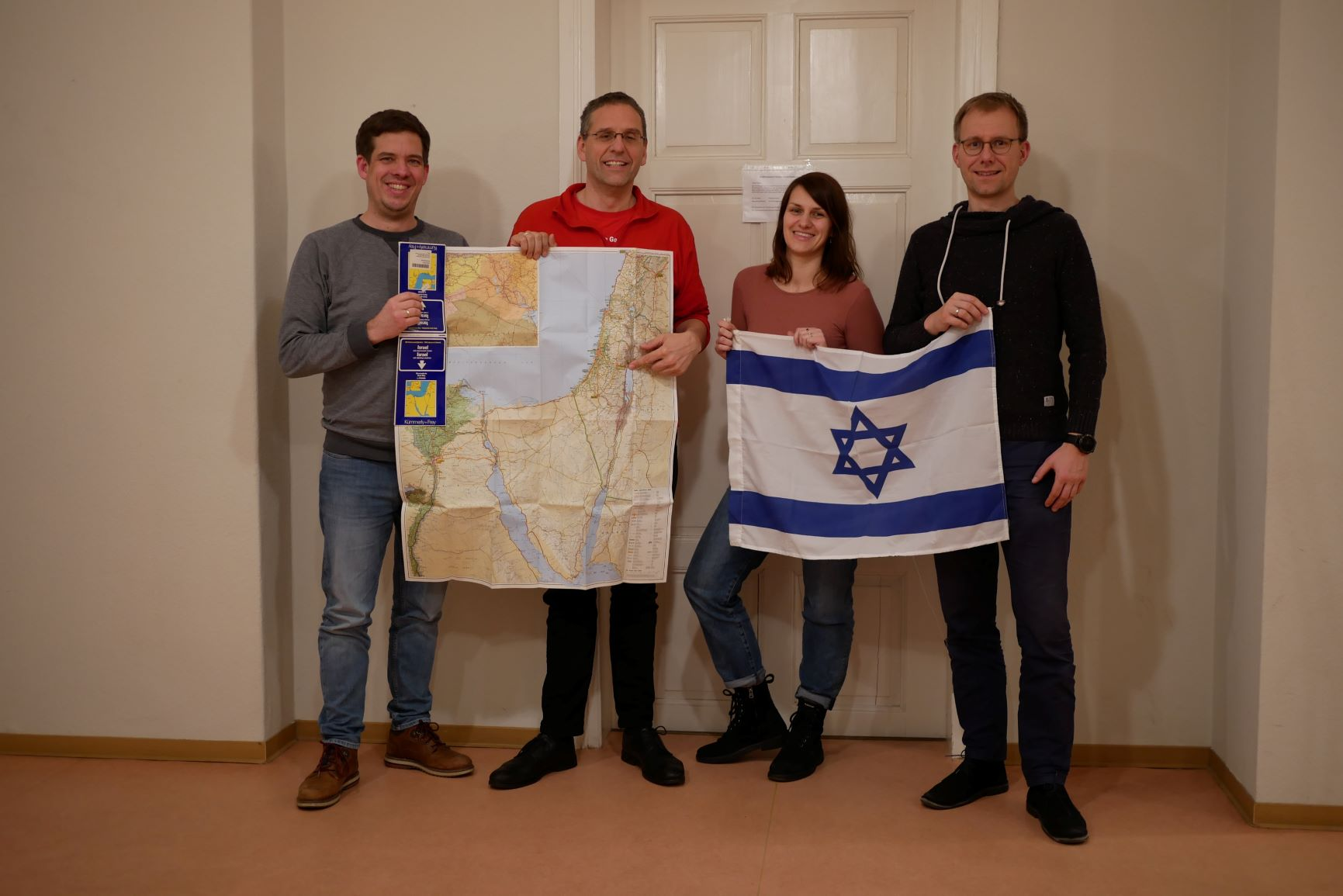 Uebergabe Jugendaustausch LeChaim Israel Belzig