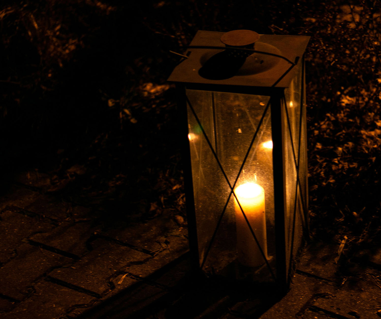 Kerzen in Borkwalde