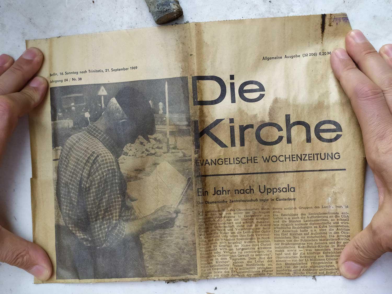 Neuendorf, Turmzier, Die Kirchenzeitung