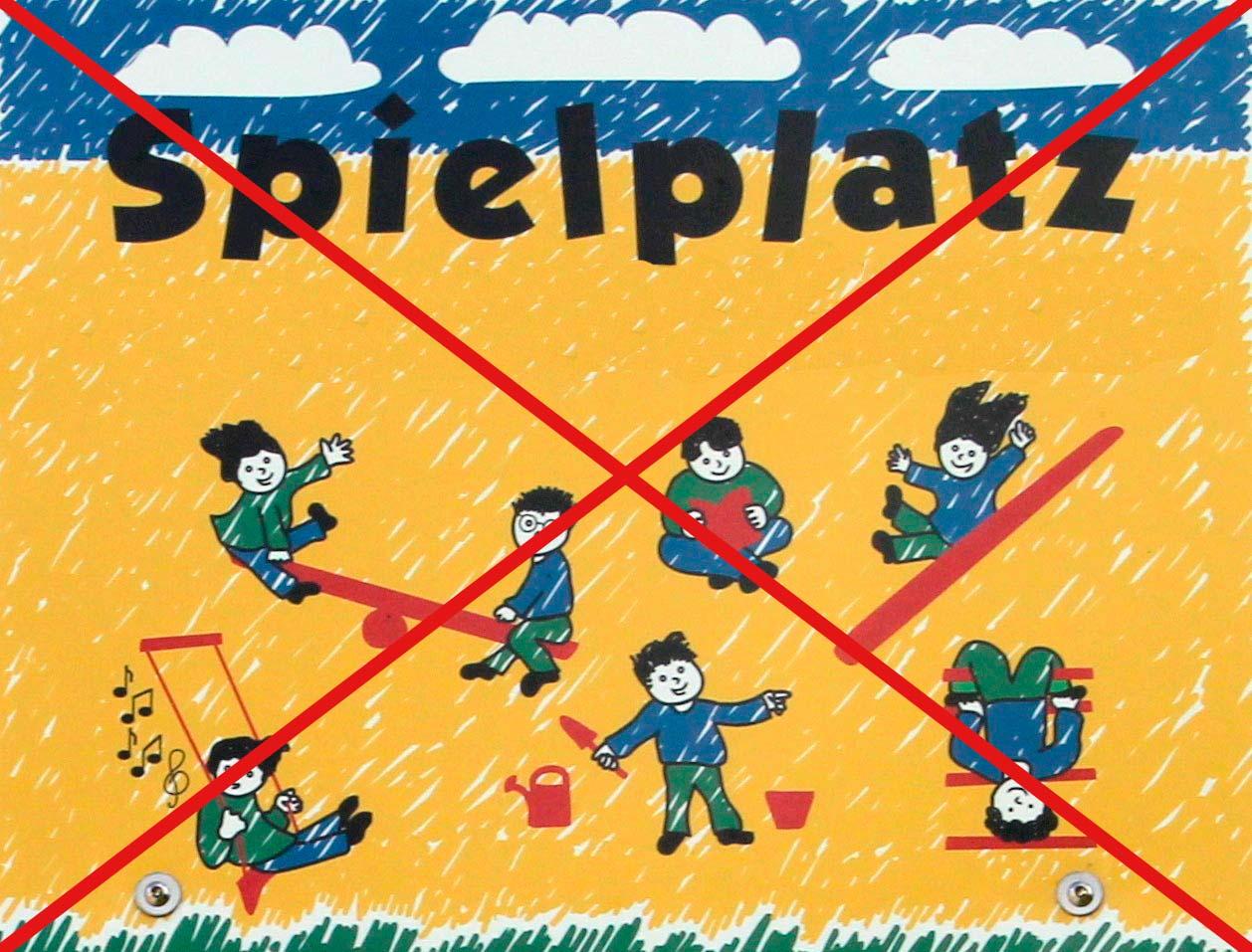 Spielplatz-gesperrt