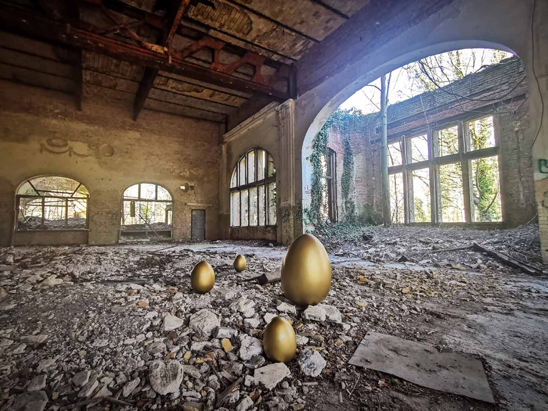Baumkronenpfad, Baum&Zeit, Jagd nach dem goldenen Ei, Ostern, Corona, COVID-19