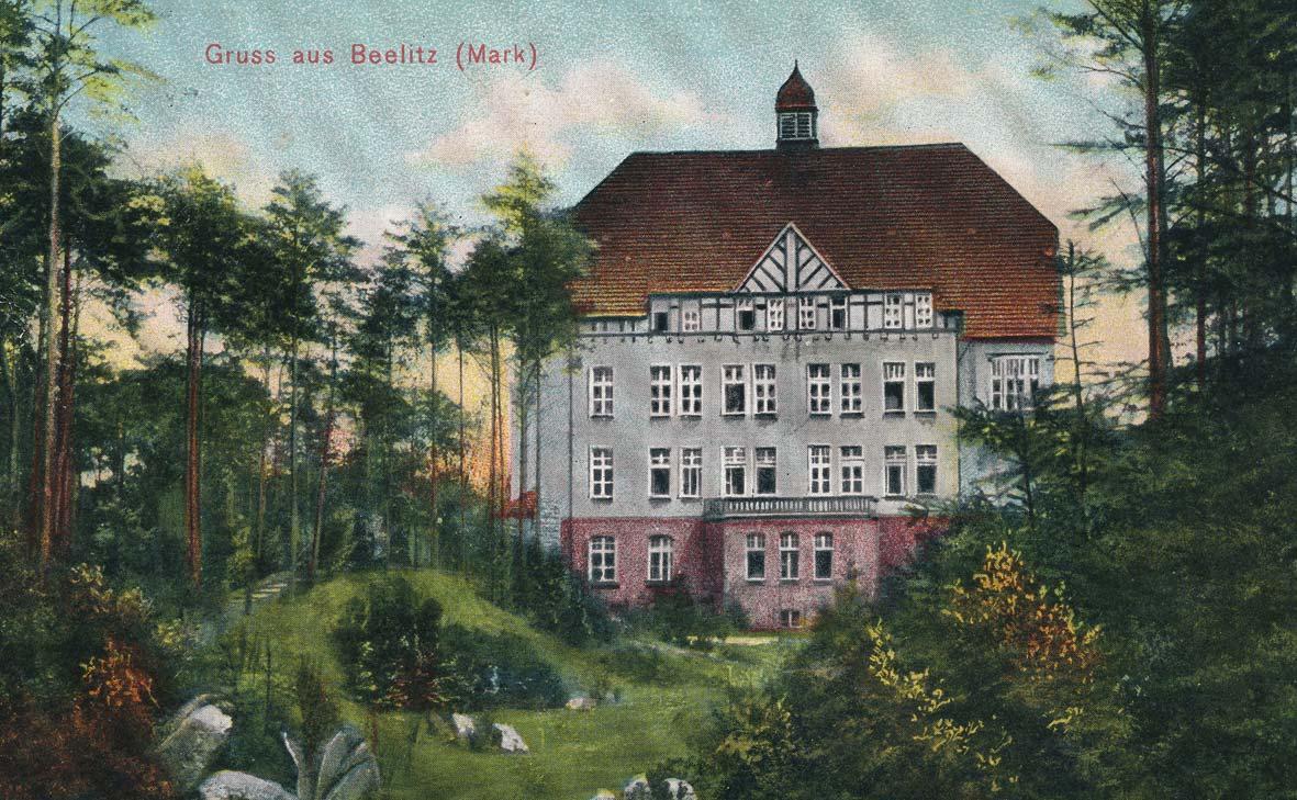Alpenhaus um 1907, Beelitz-Heilstätten