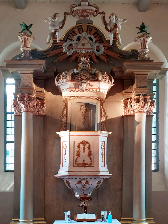 Altar, Lambertuskirche, Brück