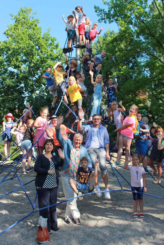 Beelitz, Kletterspinne, Kita Kinderland