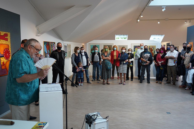 Frank W. Weber, Kunst-Geschoss, Werder (Havel), Karlheinz Grabitzky