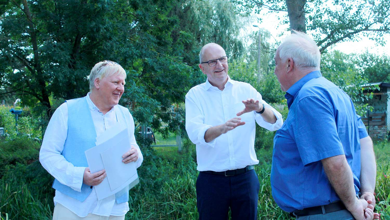 Dietmar Woidke, Bernhard Knuth, LAGA 2022, Beelitz