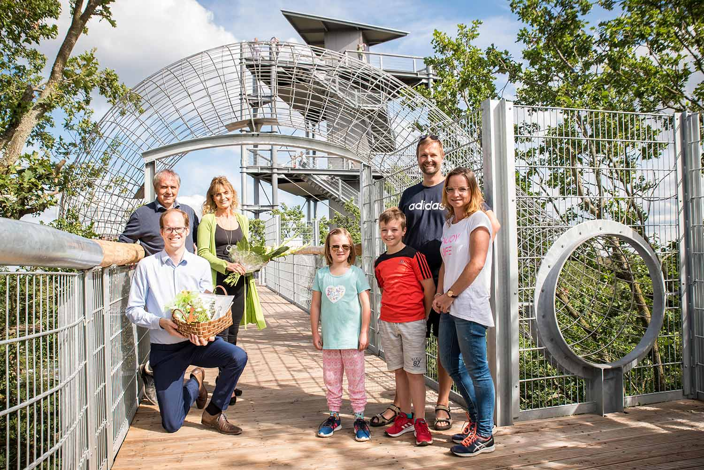 Baumkronenpfad, Baum&Zeit, Teresa Döring