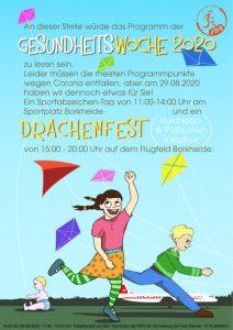 Gesundheitswoche 2020 @ Flugfeld Borkheide