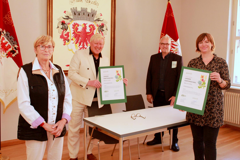 LAGA, Landesgartenschau, Beelitz, Grüne Liga, Grünes Klassenzimmer