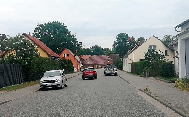 Hauptstraße in Cammer, Planebruch