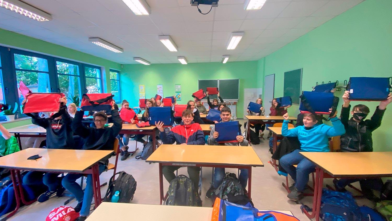 Beelitz, Sali-Bein-Gymnasium Beelitz, Fairtrade-Taschen