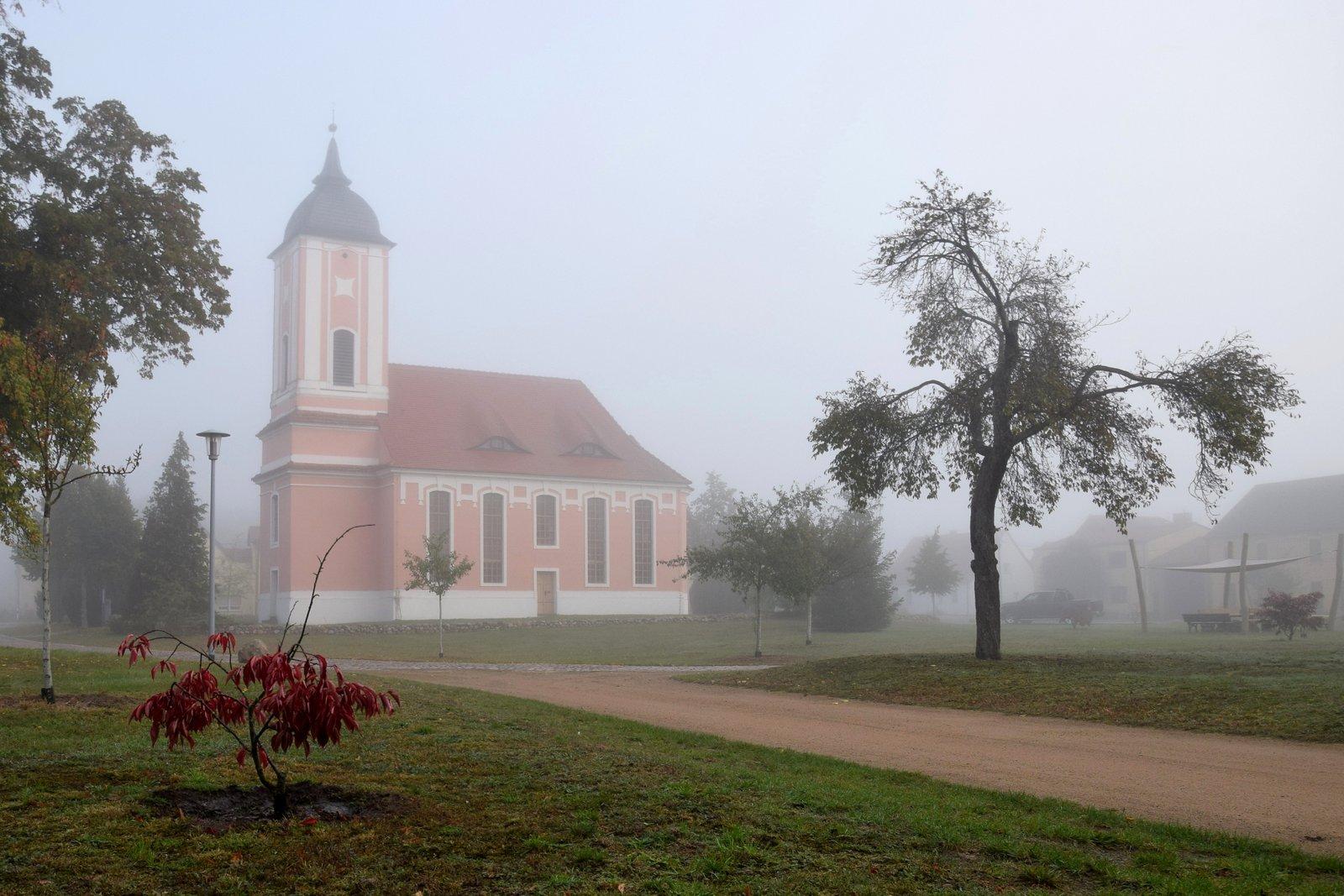 Ein Herbstmorgen in und um Reesdorf