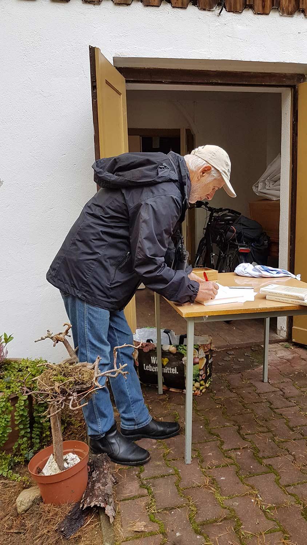 Borkwalde, Wanderung, Ernst Paul Dörfler