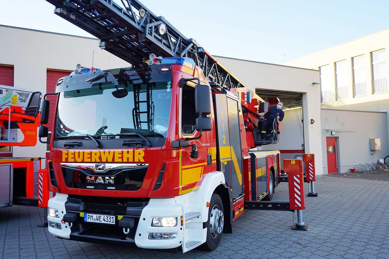 Drehleiterfahrzeug DLA-K 23/12, Werder (Havel)