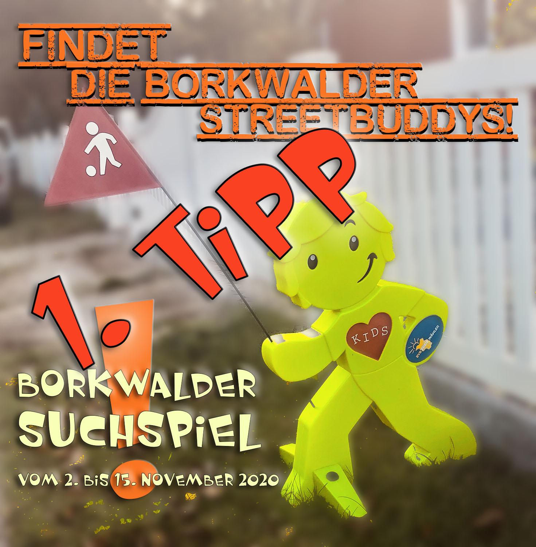 1. Tipp Borkwalder Suchspiel