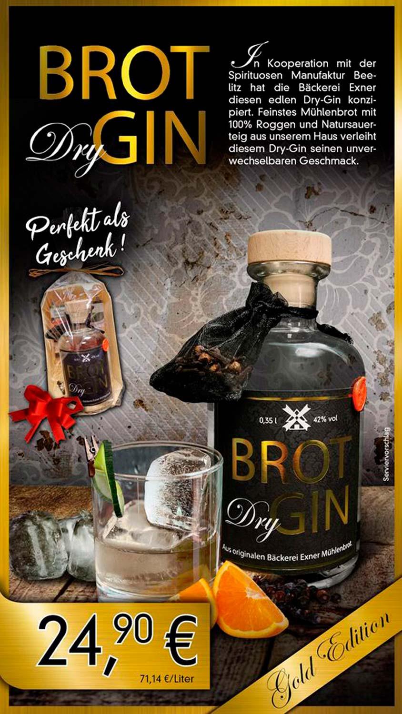 Brot Gin, Beelitz, Bäckerei Exner, Spirituosen Manufaktur Beelitz
