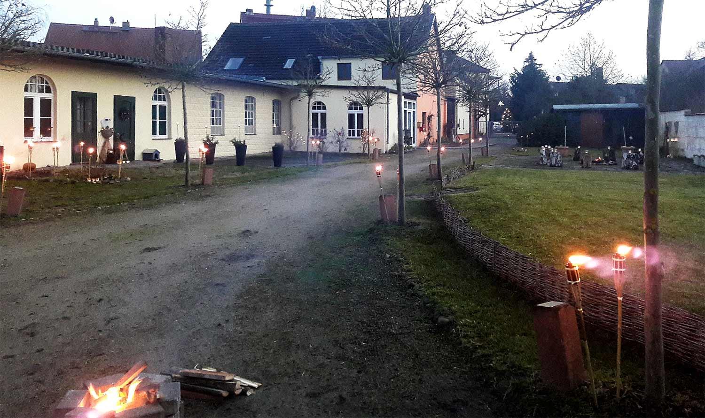 Brück, Alte Brücker Post, Licht annehmen