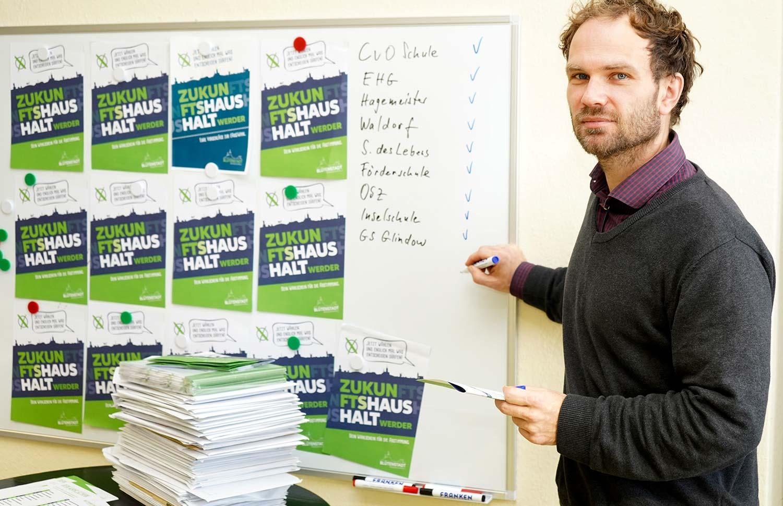Linus Strothmann, Werder, Werder (Havel), Zukunftshaushalt