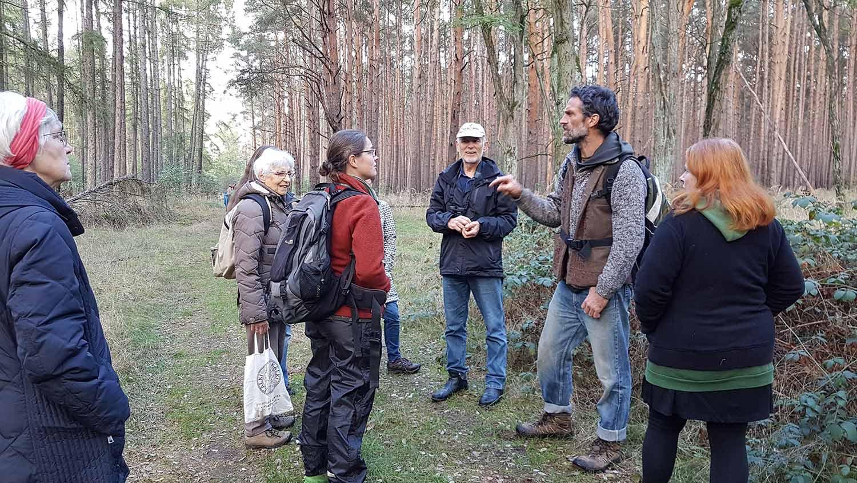 Kulturverein Zauche, Naturwanderungen, Borkwalde