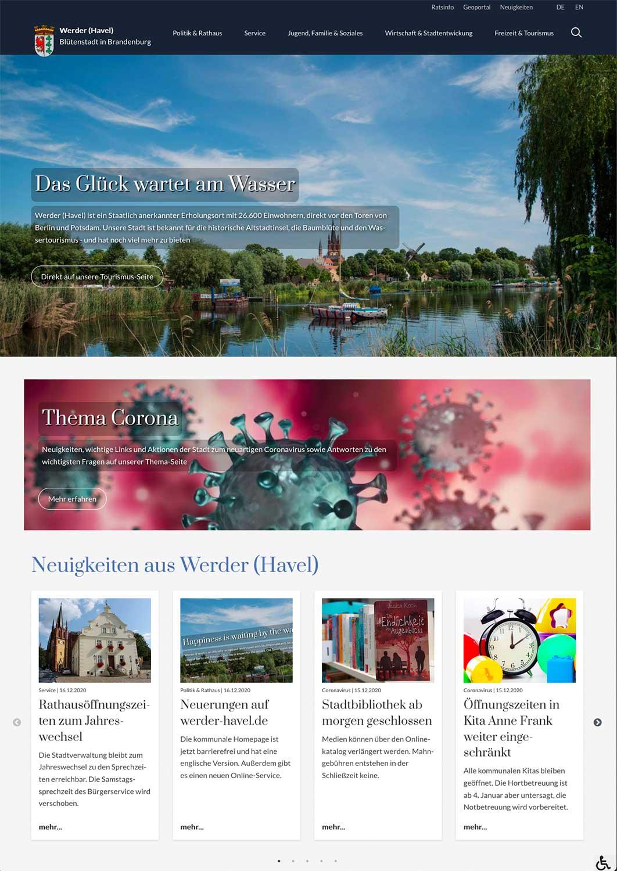 Werder-(Havel)-Webseite