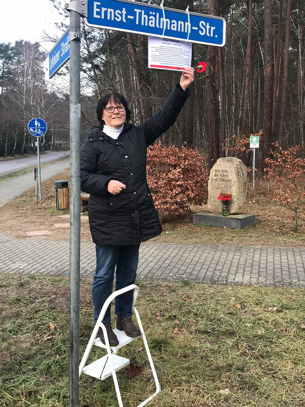 Borkwalde, Renate Krüger