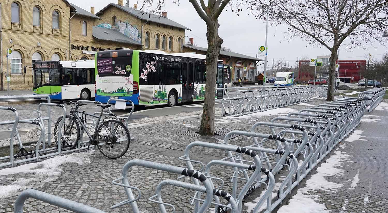 Bahnhof-Werder-Fahrradstellplaetze