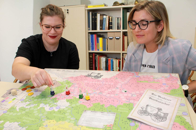 Beelitz, Beelitzer Postkutscher, Laura Haase; Justine Remus