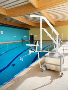 Havel-Therme, Werder, Beckenlift