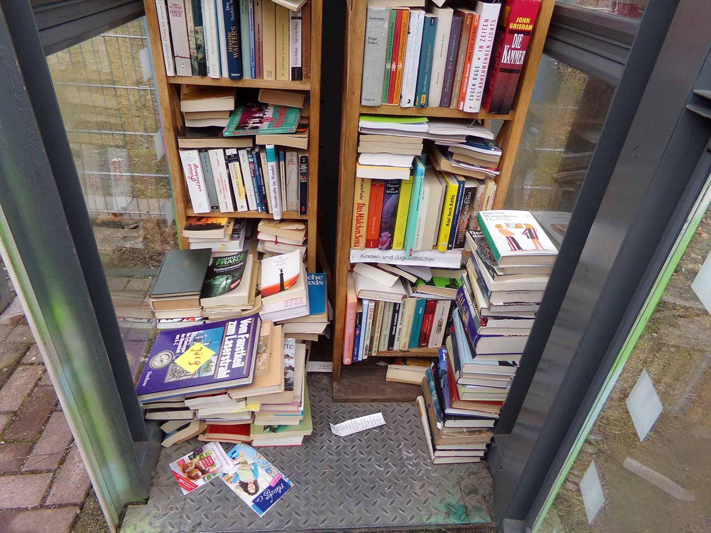 Borkwalde, Bücherzelle, Kulturverein Zauche