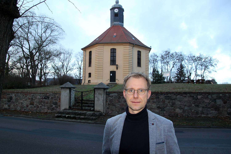 Oliver Notzke, Kirche Golzow