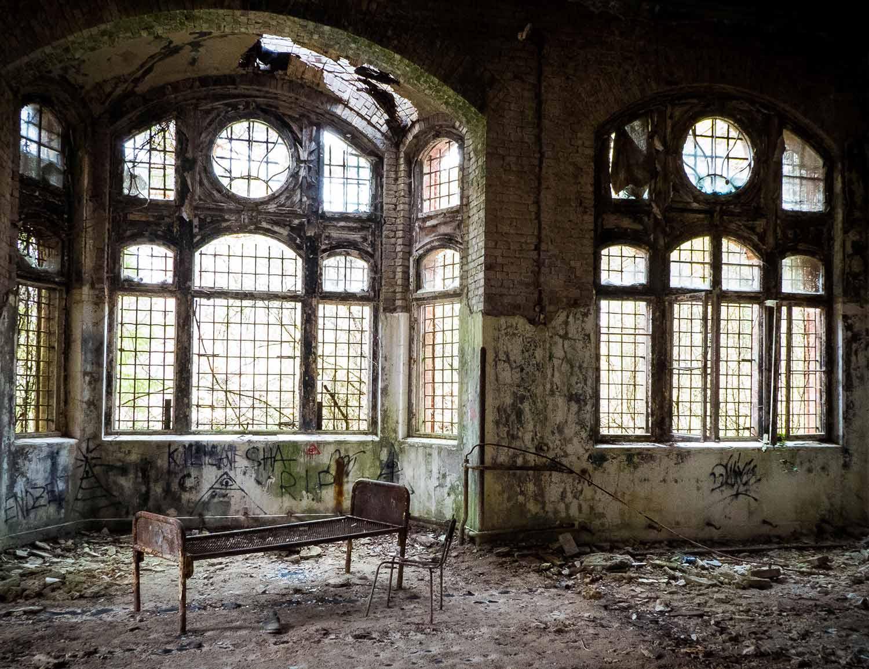 Frauenpavillion, Beelitz-Heilstätten, Baum&Zeit, Baumkronenpfad